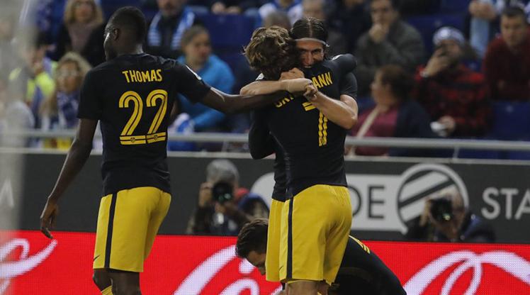 Espanyol Atletico Madrid maç özeti