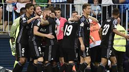 Malaga Real Madrid maç özeti