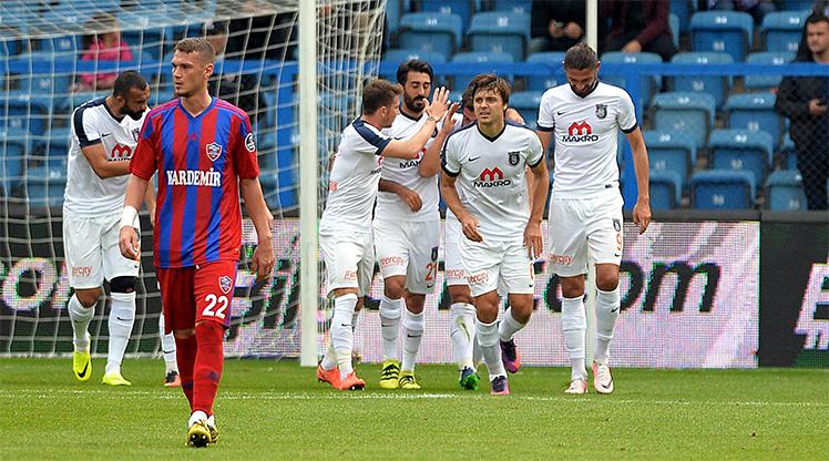 KDÇ Karabükspor Medipol Başakşehir maç özeti