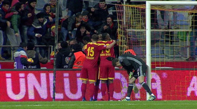 Kayserispor KDÇ Karabükspor maç özeti