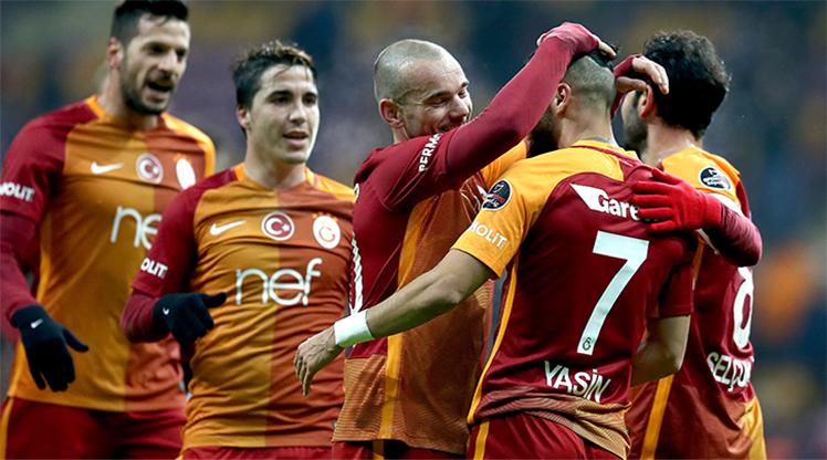 Galatasaray Akhisar Bld.Spor maç özeti