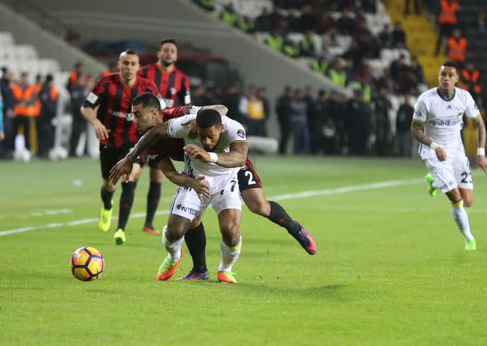 Gaziantepspor Fenerbahçe maç özeti
