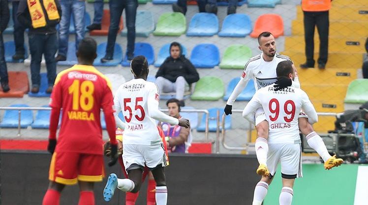 Kayserispor Gaziantepspor maç özeti