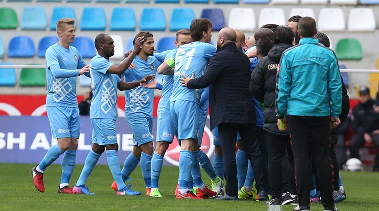 Kayserispor Osmanlıspor FK maç özeti