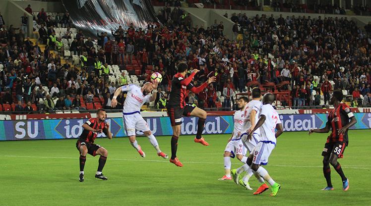 Gaziantepspor Kardemir Karabükspor maç özeti