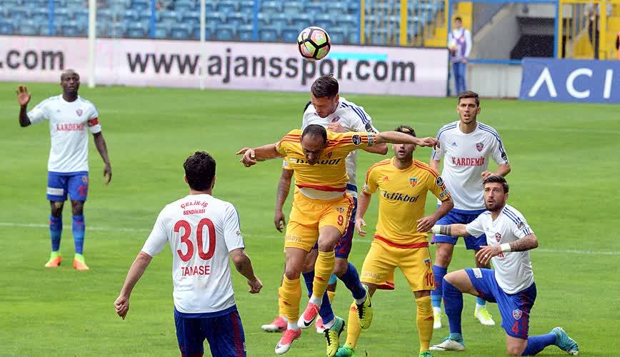 Kardemir Karabükspor Kayserispor maç özeti