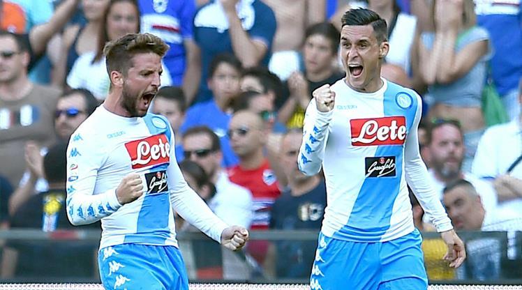 Sampdoria Napoli maç özeti