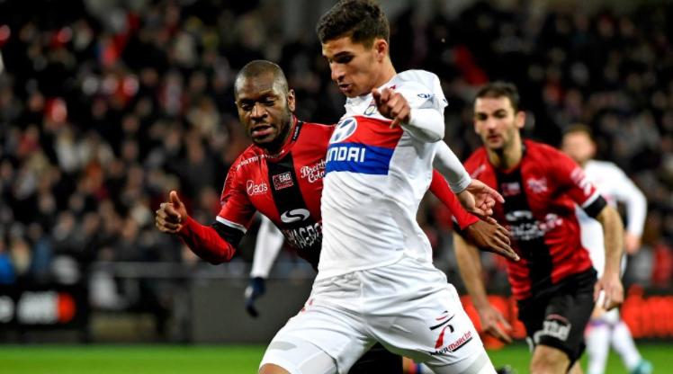 Guingamp Olympique Lyon maç özeti