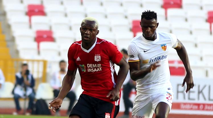 Demir Grup Sivasspor Kayserispor maç özeti