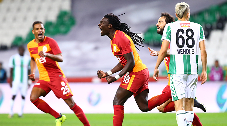 Atiker Konyaspor Galatasaray maç özeti