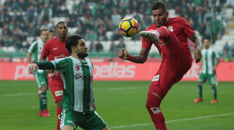 Atiker Konyaspor Antalyaspor maç özeti