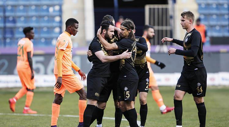 Osmanlıspor FK Aytemiz Alanyaspor maç özeti