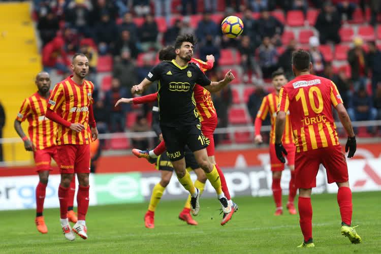 Kayserispor Evkur Yeni Malatyaspor maç özeti