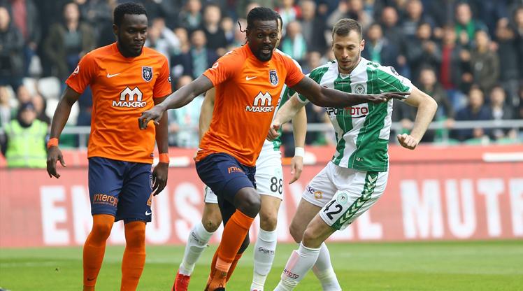 Atiker Konyaspor Medipol Başakşehir maç özeti