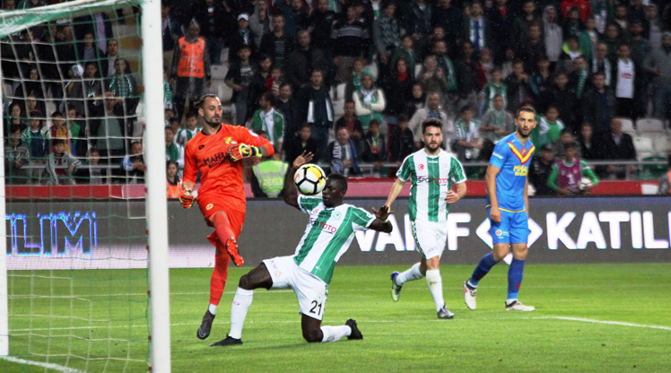 Atiker Konyaspor Göztepe maç özeti