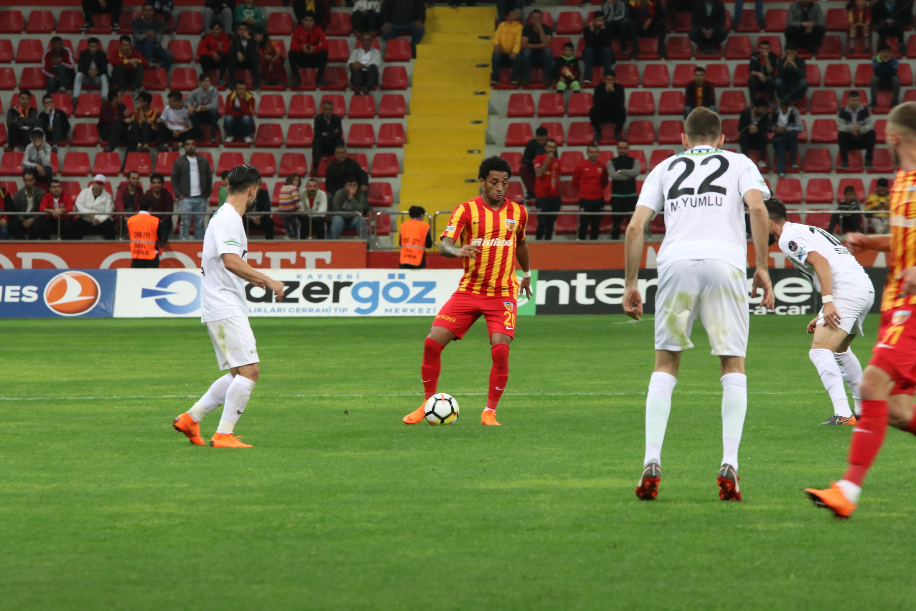 Kayserispor Teleset Mob. Akhisarspor maç özeti