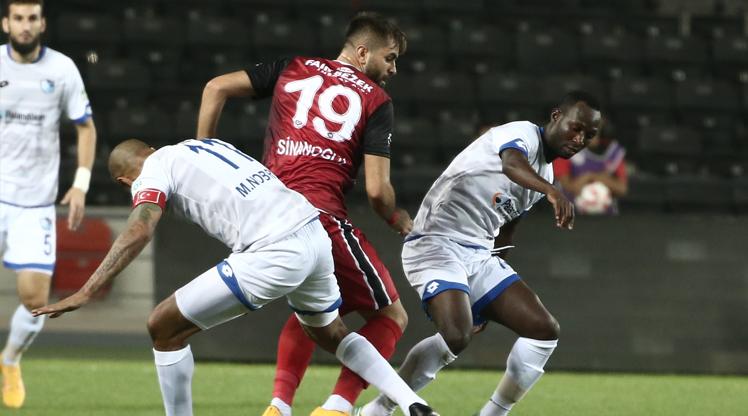 Gaziantepspor BŞB Erzurumspor maç özeti
