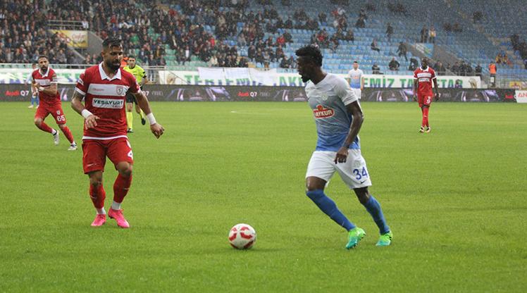 Çaykur Rizespor Samsunspor maç özeti