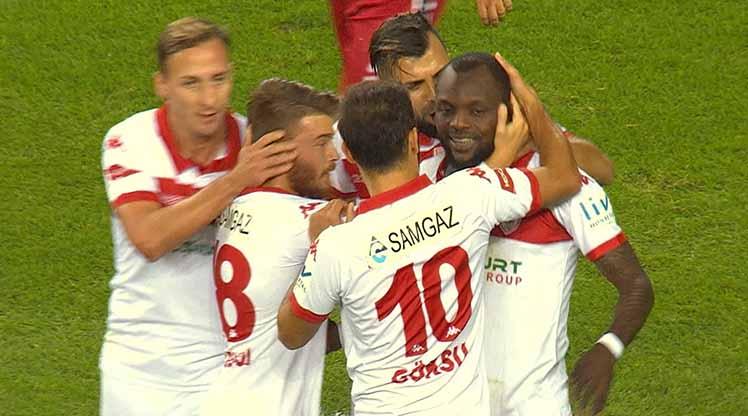 Samsunspor Gaziantepspor maç özeti