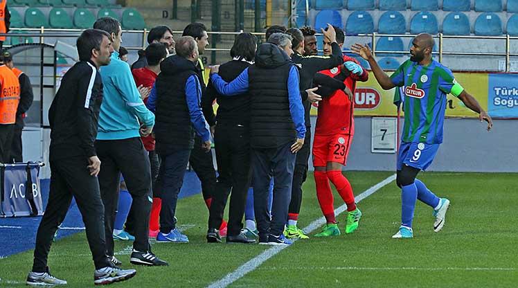 Çaykur Rizespor Denizlispor maç özeti