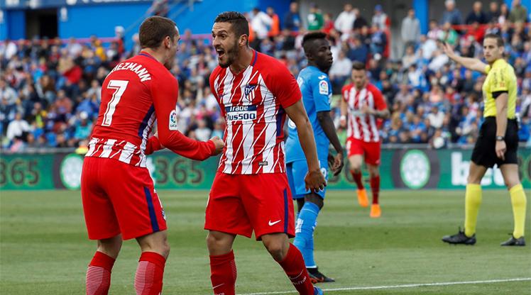 Getafe Atletico Madrid maç özeti