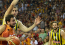 Galatasaray Liv H. Fenerbahçe Ülker maç özeti