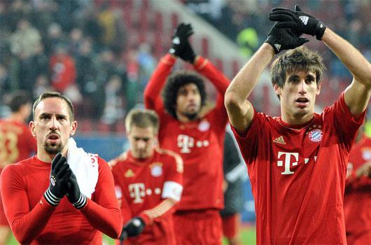 Herkes Bayern'e çalıştı