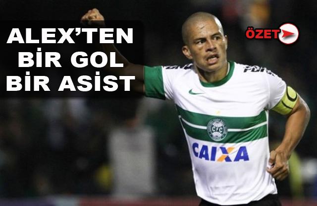 Alex'ten altın gol/Özet