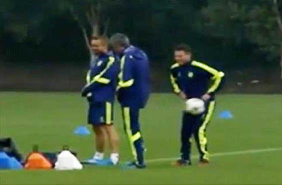 Şakacı Mourinho!