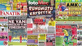 Manşetlerde Brezilya hezimeti var!