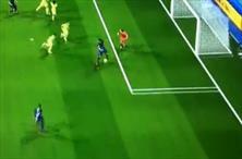 Oyunda bile normal gol atmıyor