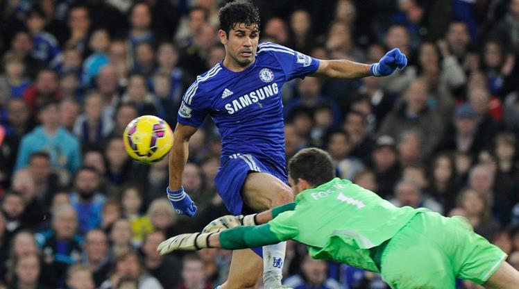 Chelsea Diego Costa'yla güzel! (ÖZET)