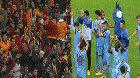 Tribünler Trabzonspor'u alkışladı!