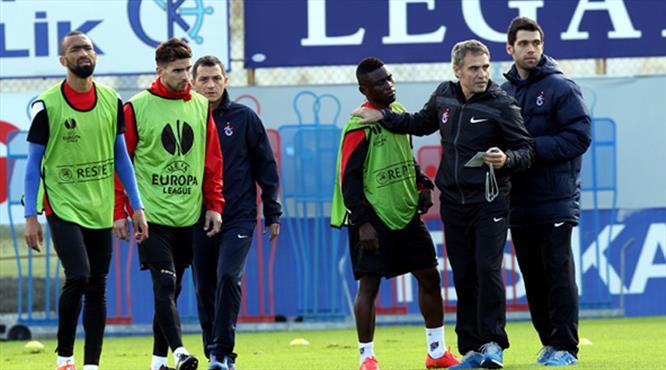 Trabzonspor'da Metalist hazırlıkları
