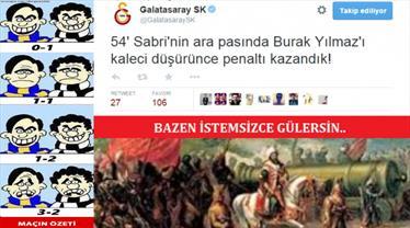 İşte Galatasaray - Mersin İdmanyurdu capsleri