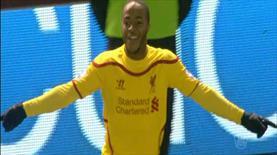 Duvarı Sterling yıktı, Liverpool 'oh' çekti!