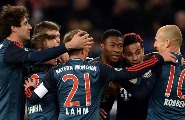Bayern hezimete uğrattı