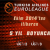 Euroleague heyecanı Lig TV 2 ve Lig TV 3'de