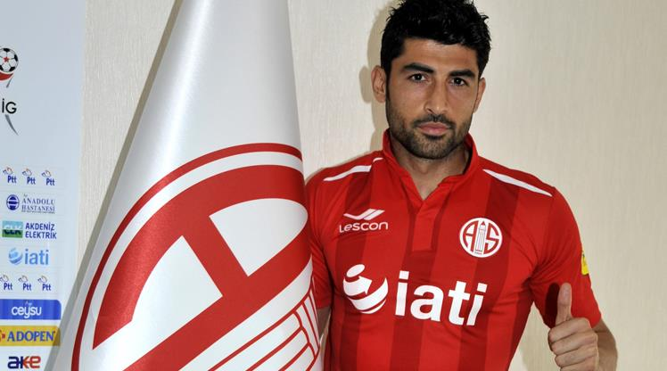 Sivas'ın golcüsü Antalya'da