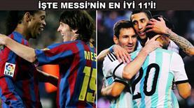 Messi onu 11'ine almadı!