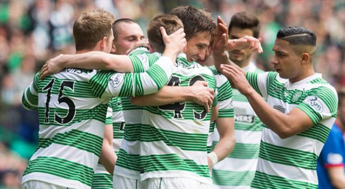 Celtic zirveye yaklaştı