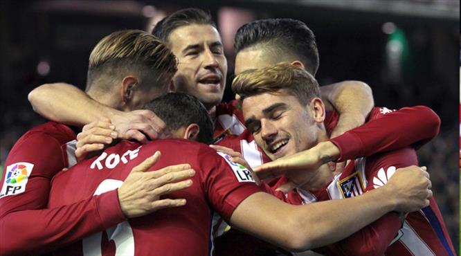 Atletico Barça'nın ensesinde (ÖZET)