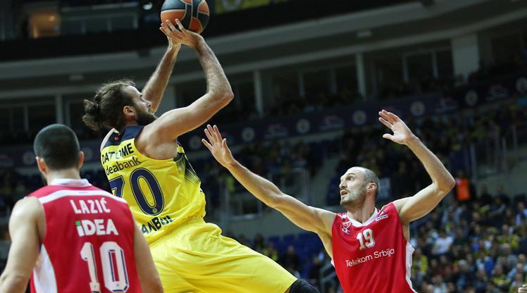 Fenerbahçe-Kızılyıldız: 79-61