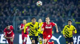 Dortmund Köln'e takıldı