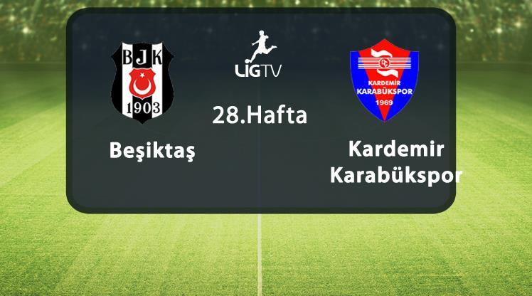 Beşiktaş-Karabükspor (CANLI)