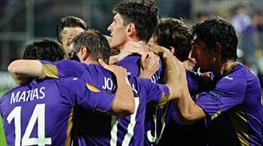 Fiorentina 2 golle yarı finalde