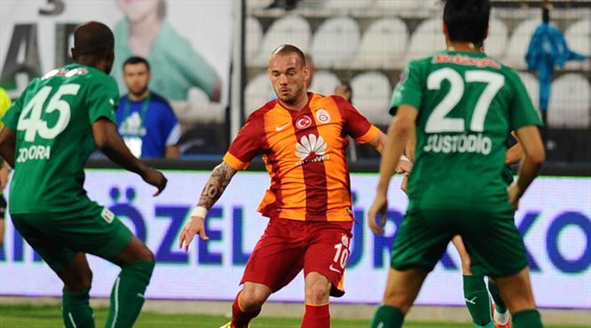 Galatasaray'dan Manisa'da bir ilk!