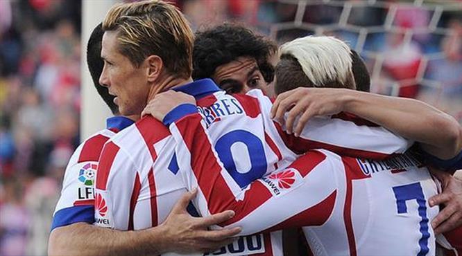 Atletico 1 puanı Torres'le kurtardı