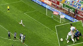 İşte Karabük'ü öne geçiren penaltı