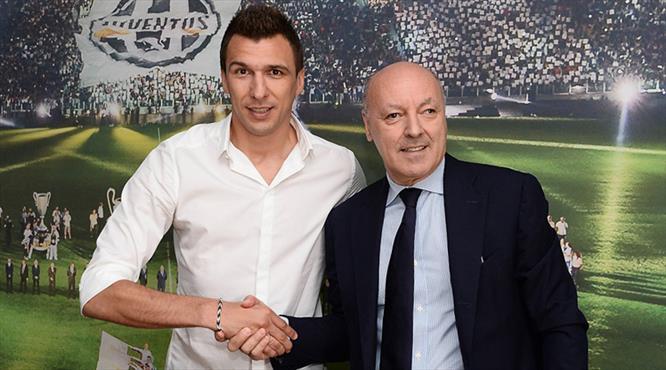 Mandzukic resmen Juventus'ta